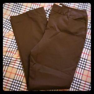 St Johns Bay Brown khaki pants size 10 petite
